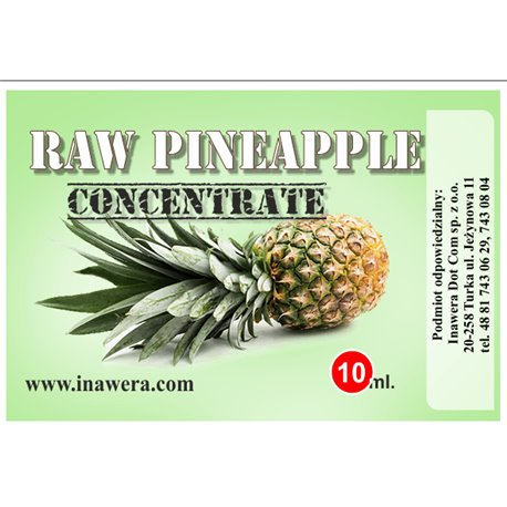 INAWERA AROMA RAW PINEAPPLE 10 ml
