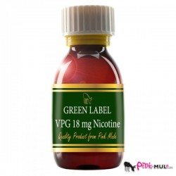 NIKOTINSKA BAZA VPG GREEN LABEL 18 MG 100 ML